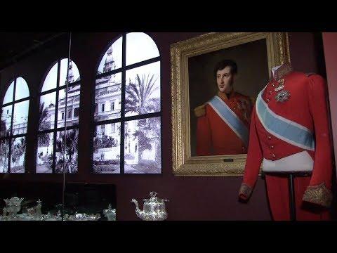 Monaco Royal Family Items on Display in Beijing