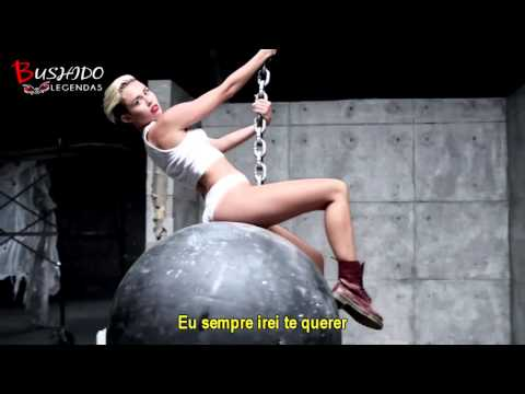 Miley Cyrus - Wrecking Ball (Legendado - Tradução)