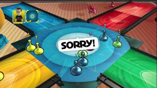 Hasbro Family Game Night - Sorry! Sliders JR RODRIGUEZ VS ALEX AKUMA RODRIGUEZ ON 03-01-11