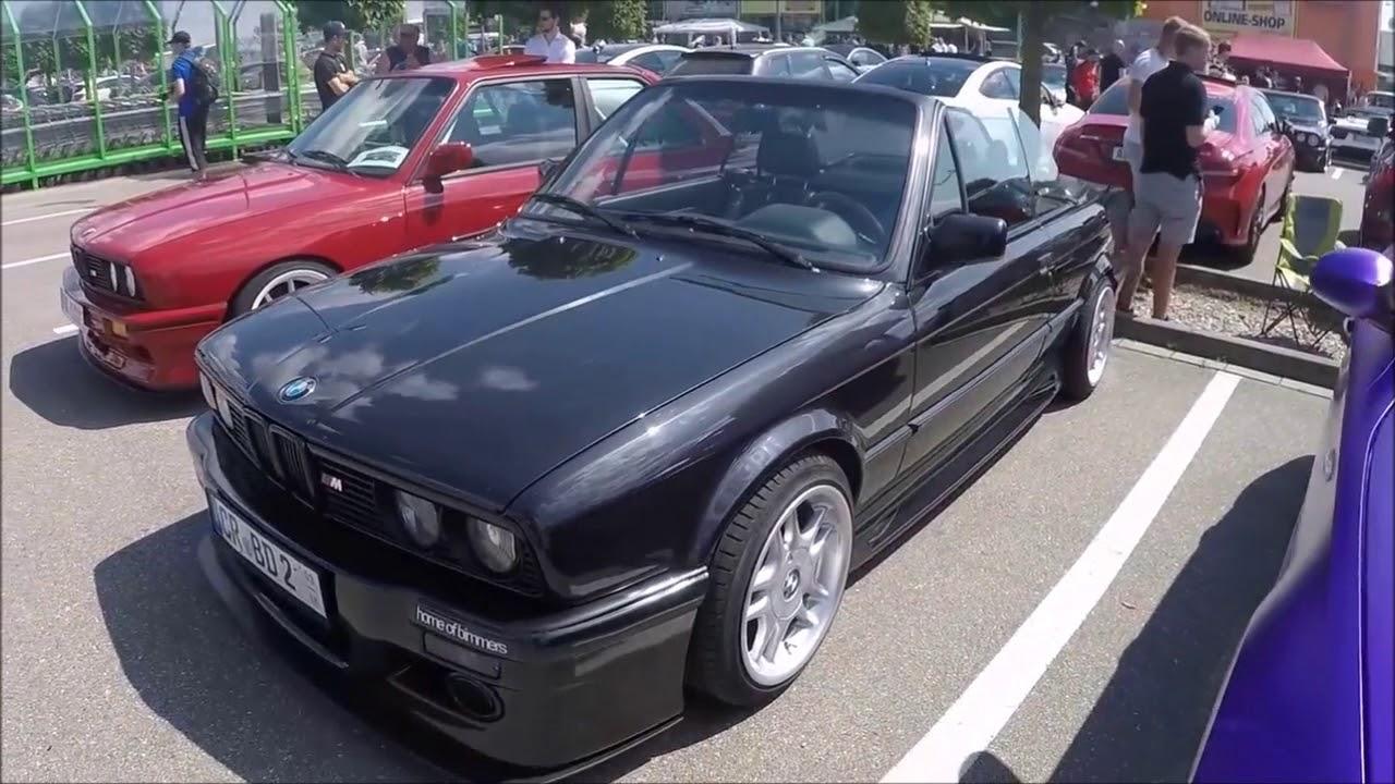 BMW 3-SERIES E30 FACELIFT CABRIOLET COMPILATION 2: BLACK COLOUR ...