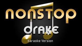 Gambar cover Drake - Nonstop (Karaoke) ♪