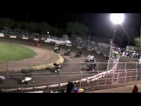 Dominic Scelzi 3/30/12 Plaza Park Raceway Visalia Super 600 Main Event