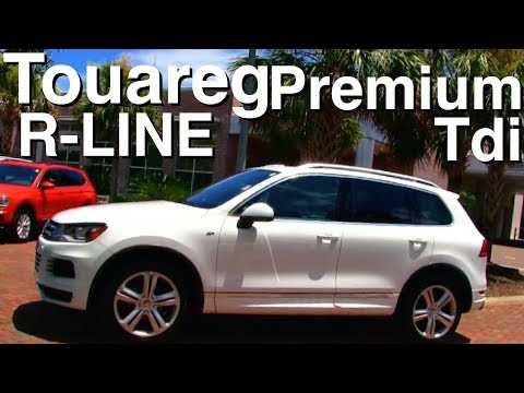 Here's a Once $60,000+ Volkswagen Touareg Premium R-Line TDI Diesel | In Depth Review