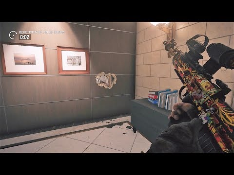 RAINBOW SIX - FINAL A TRAVES DE LA PARED!