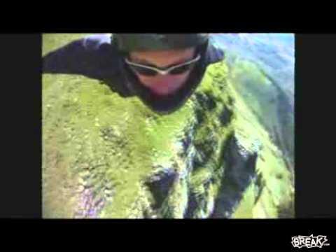 Insane Wingsuit Base Jump