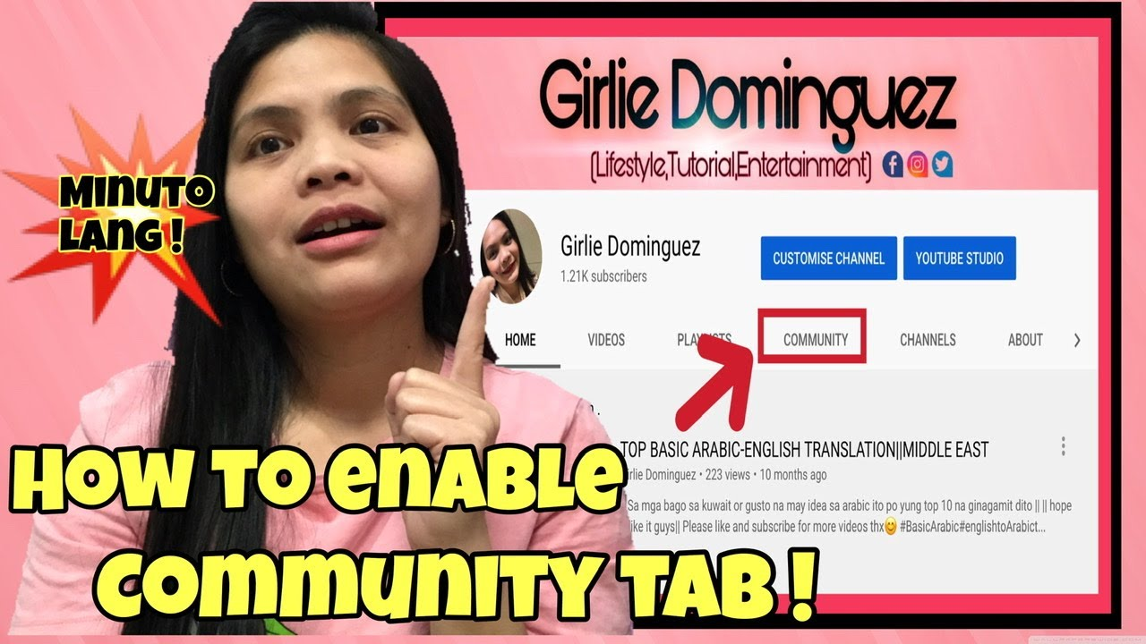 HOW TO ENABLE COMMUNITY TAB ON YOUR YOUTUBE CHANNEL in 2020| IOS/ ANDROID