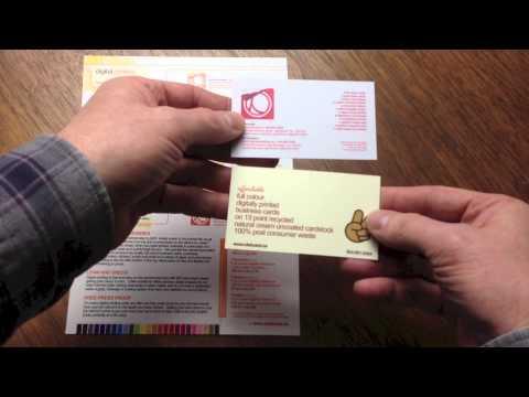 Clubcard Printing Canada Card Stock Choices For Digital Printing | Clubcard TV