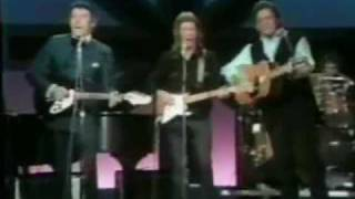 Eric Clappton, Carl Perkins & Johnny Cash Rockabilly Session