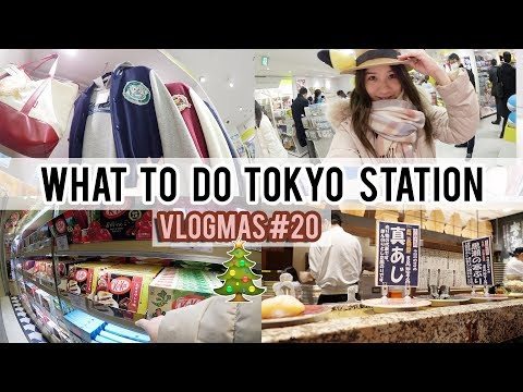 TOKYO STATION - What to do & Mini Tour | Vlogmas Day #20