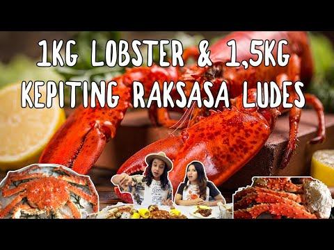 Gila 1kg Lobster Kanada 1 5 Kepiting Raksasa Alaska Ludes Ft Shelly Che