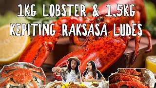 Gila! 1kg Lobster Kanada + 1,5 Kepiting Raksasa Alaska Ludes! ft. Shelly Che