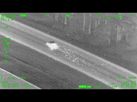 Air-2 Aids in Vehicle Pursuit and Suspect Apprehension