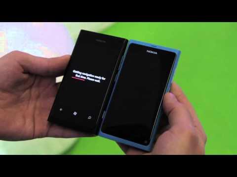 Nokia Lumia 800 demo