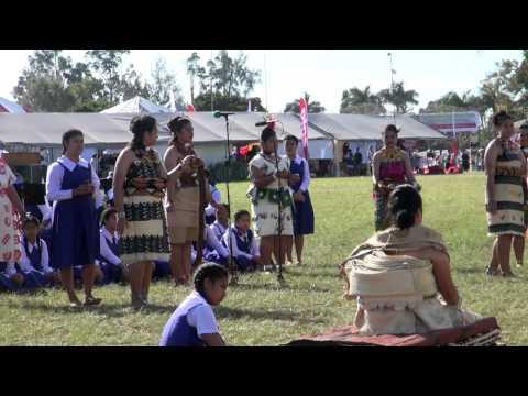 Lau Mahina Faka-Tonga - Queen Salote College - Coronation Celebration