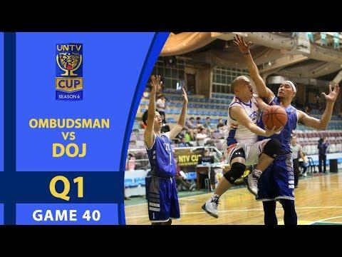 UNTV CUP 6: Ombudsman vs DOJ — Q1