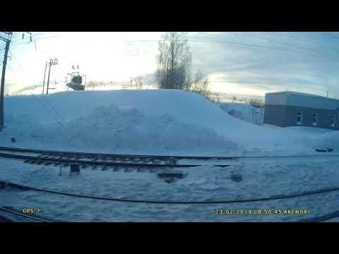 Россия из окна поезда Шахунья-Москва.Серия 2