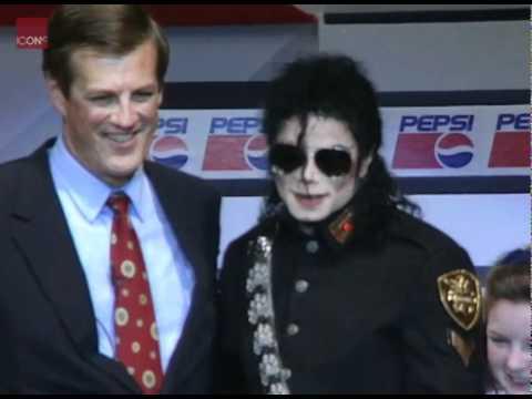 Michael Jackson At Launch Of The Michael Jackson Foundation