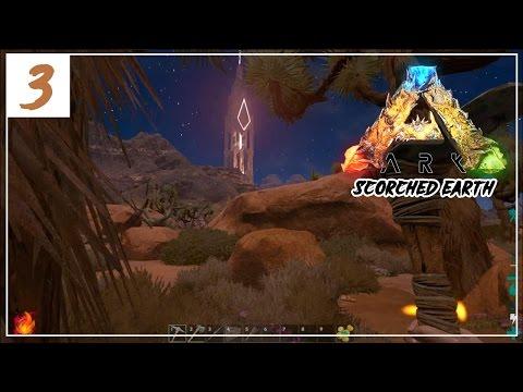 ARK Scorched Earth - Heatwave & building shelter! - E3