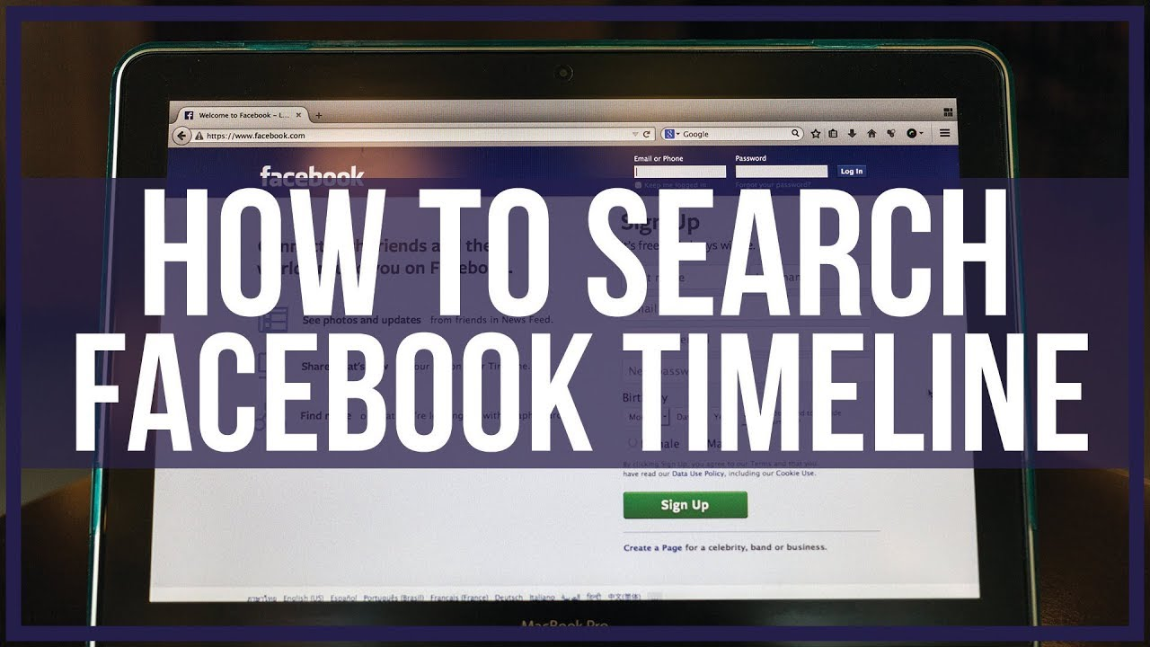 How to Search Someone's Facebook Timeline - Online Business Realm