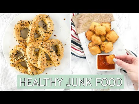 Healthy Junk Food Recipes | Easy Paleo Pretzel & Queso