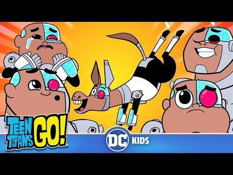 Teen Titans Go!   Adorable Cyborg   DC Kids