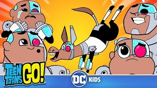 Teen Titans Go! | Adorable Cyborg | DC Kids thumbnail