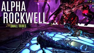 ALPHA ROCKWELL and Megalosaurus Boss Fight - Official 6 Man Tribes (E12) - ARK Survival