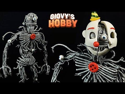 ENNARD TUTORIAL ➤ FNAF SISTER LOCATION ★ Porcelana fria / Polymer clay ✔ Giovy's Hobby REUPLOAD