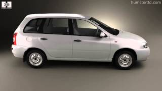 Lada Kalina (1117) wagon 2011 by 3D model store Humster3D.com