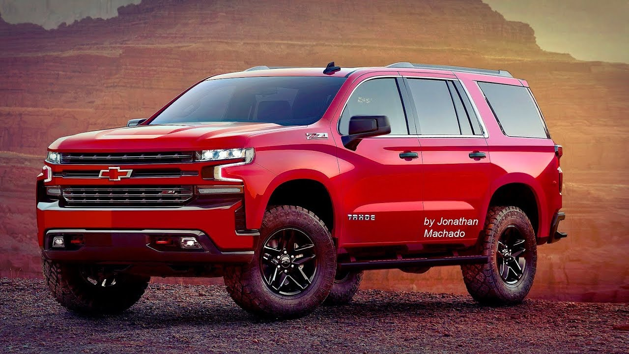 Render All New 2019 Chevrolet Tahoe Silverado Chevrolettahoe