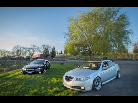 Slammed Stanced Acura Tl S Youtube