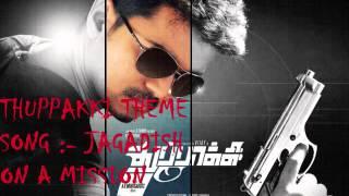 Thuppakki Theme Song Jagadish on a Mission