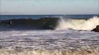 Surfing~Sandbar~SB~Hurricane Marie~ 8/27/14