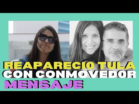TULA RODRIGUEZ REAPARECIO TRAS LA PARTIDA DE SU ESPOSO JAVIER CARMONA CON CONMOVED0R MENSAJE
