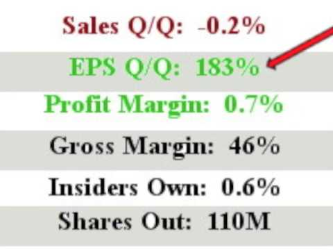 $XPO will this stock make you $ Great EPS TY closed in above avg vol 1 min video