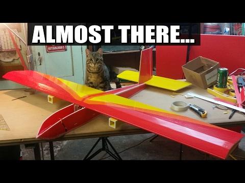GemiNice Scratch Build (2/3) - Twin motor Depron Plane Heavy Lift FPV Slow Flyer