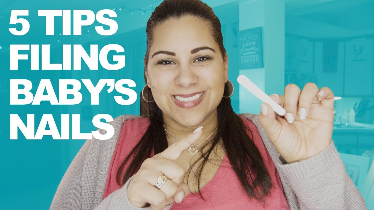 How To File Baby S Fingernails 5 Tips