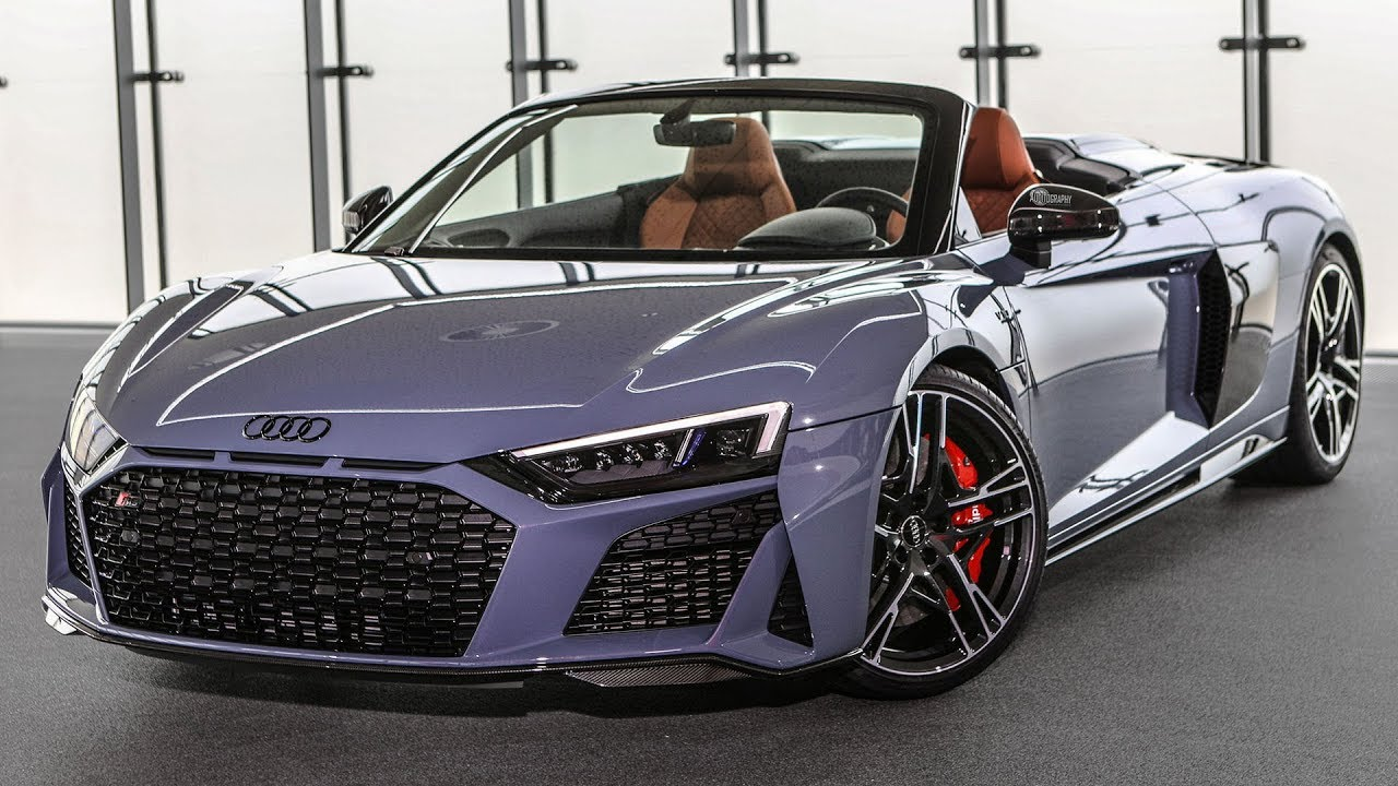 2019 20 audi r8 first official footage new front rear design upgraded engines and more. Black Bedroom Furniture Sets. Home Design Ideas