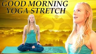 Good Morning Yoga Stretch For Beginners – 20 Minute Flexibility and Back Pain Relief Stretches