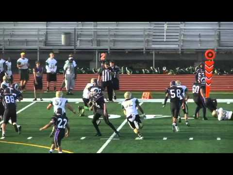Michael Dillon Hayes #39 JV Football 2015