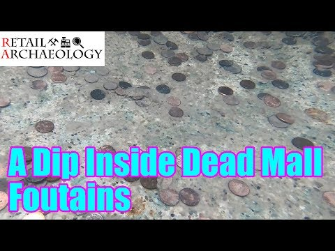 A Dip Inside Dead Mall Fountains | Retail Archaeology Quick Shot Series