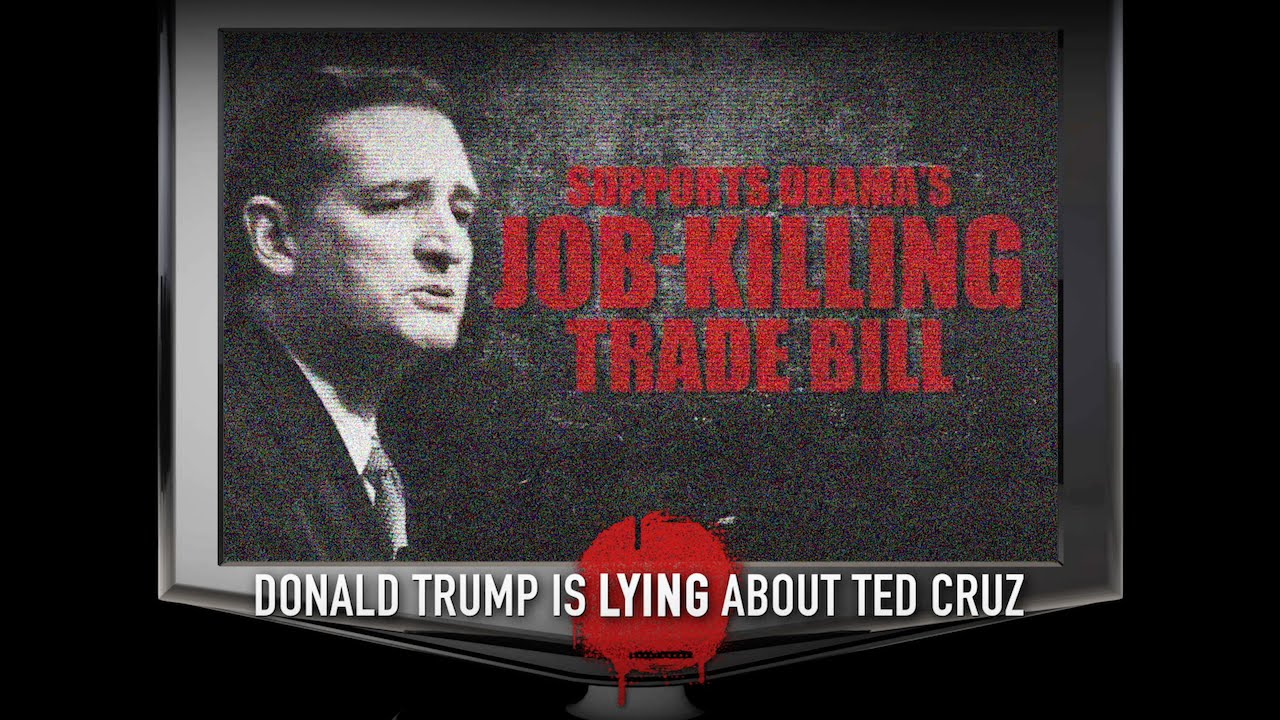 Donald Trump is Lying About Ted Cruz   #CruzCarly2016 ...