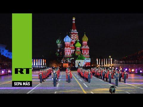 Espectacular 'batalla' de orquestas militares en la Plaza Roja