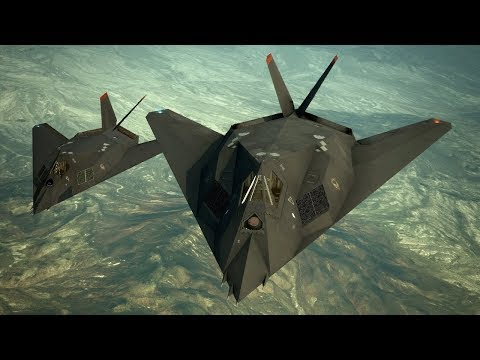 Epic Flyight on F-117 Nighthawk ! Stealth Fighter in HAWX Game