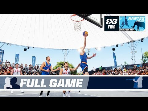 Netherlands' historic win vs. USA - Full Game - FIBA 3x3 World Cup 2017