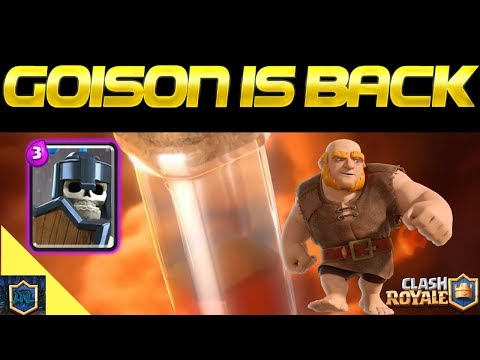 IT'S BACK - The Goison Deck Meta | Giant Poison Deck | Everything Royale Episode 18 | Clash Royale