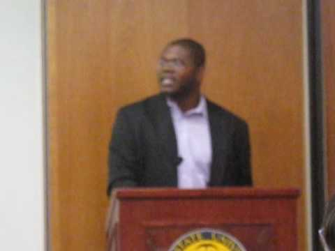What a PhD program is really like: Dr Jason Johnson speech to McNair Scholars