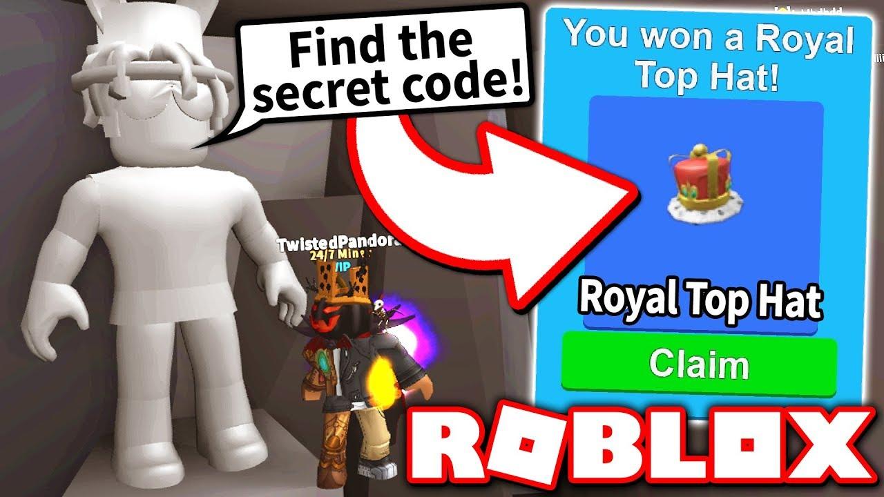 How To Get The Royal Top Hat Complete The Secret Npc Quest Part
