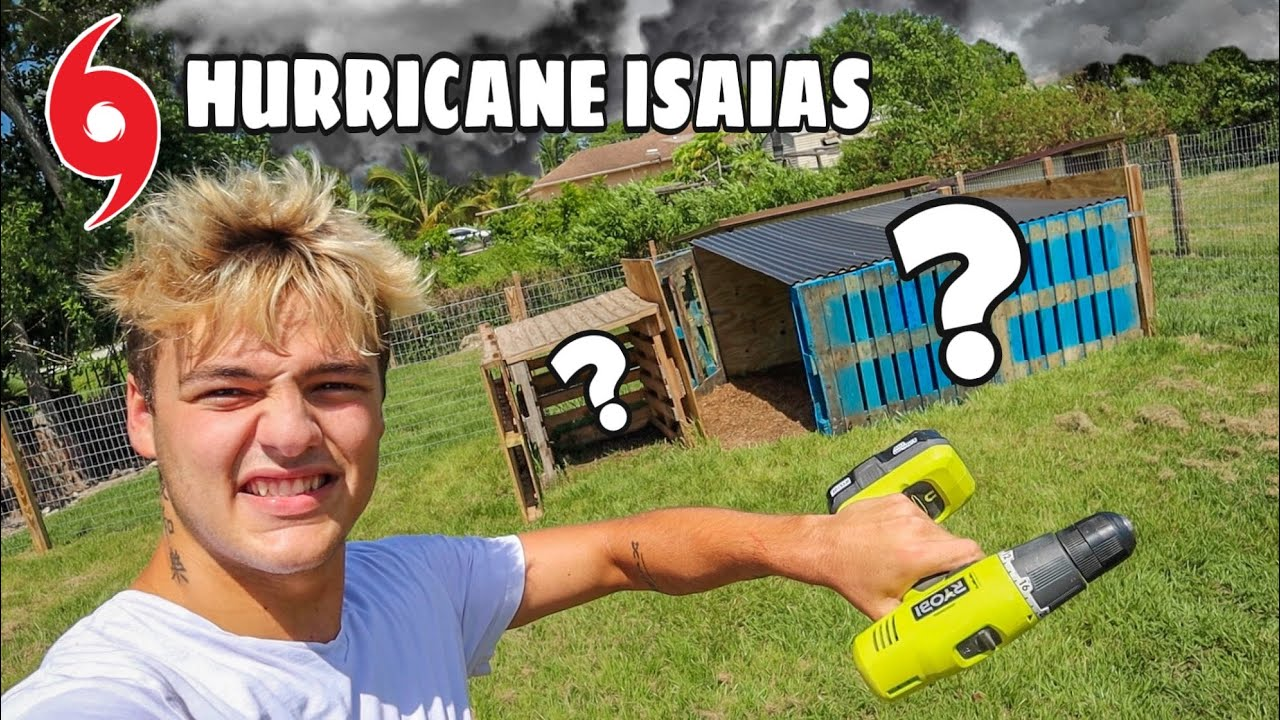 PREPARING for HURRICANE at My FARM!!