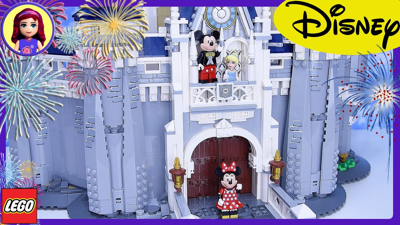 Lego The Disney Castle Build Review Silly Play Part 1 Princess